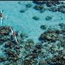 Le bleu des eaux du lagon de Tetiaroa est unique au monde.