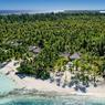 Les 35 villas de l'hôtel sont posées en bord de plage. Ici, celle des Sirènes.