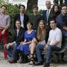 Photo de famille des 10 jeunes écrivains sélectionnés par la rédaction du Figaro pour leurs premiers romans.