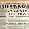 L'Intransigeant du 11 novembre 1918 le clame: «La Paix est faite, puisque l'armistice est signé.» Déjà, le journal s'interroge sur l'avenir des usines de guerre qui devront se transformer pour produire des «fabrications de paix».