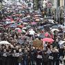 Plus de 30.000 personnes se sont rassemblées à Limoges.