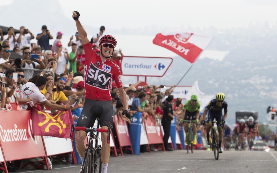 Vuelta : Irrésistible, Froome gagne et grignote