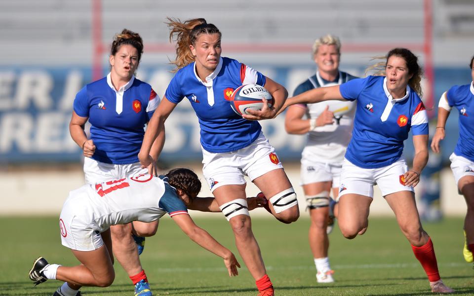 XV de France féminin : les Bleues terminent sur une bonne note contre les Etats-Unis