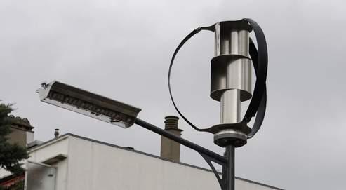 lampadaire eolien