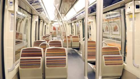 Un m tro plus colo paris for Metro interieur