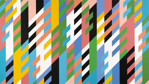 Bien connu Bridget Riley ou les vertiges de l'abstraction JK27