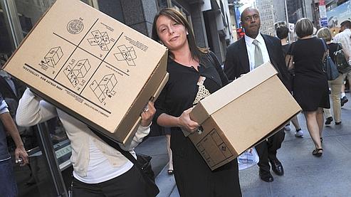 Wall Street licencie à tour de bras