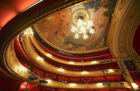 La com die fran aise sera r nov e en 2011 - Comedie francaise salle richelieu ...