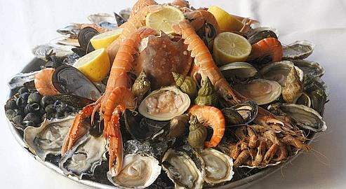 Les meilleurs plateaux de fruits de mer de paris jarrasse - Decoration plateau fruit de mer ...