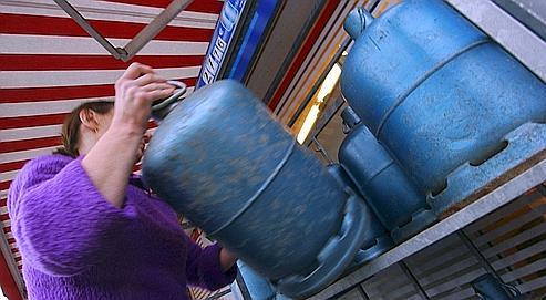 Les bombonnes butagaz bient t br siliennes for Odeur de gaz que faire