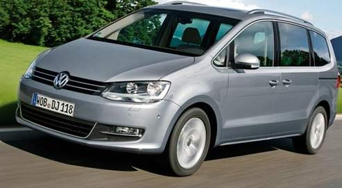 1000 km en volkswagen sharan. Black Bedroom Furniture Sets. Home Design Ideas