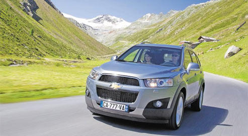 Chevrolet captiva portrait d 39 un ex cuteur de low cost for Prix d un autocuiseur