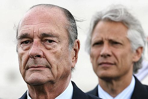 Image result for chirac and villepin