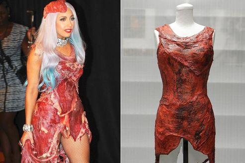 """Résultat de recherche d'images pour """"lady gaga viande"""""""
