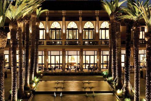 Les 5 palaces marrakech o se revitaliser for Hotels 5 etoiles marrakech