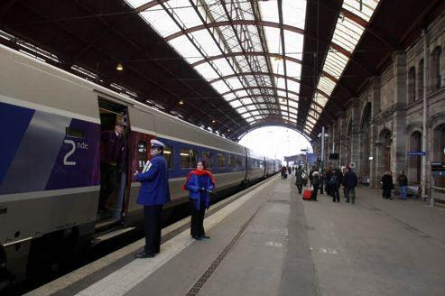 Un rapport pingle les tarifs du tgv est for Exterieur quai gare de l est