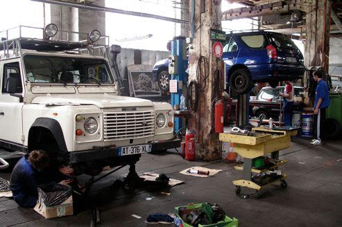 Self garage quand le client devient m canicien for Garage renault atelier