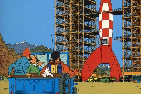 Tintin objectif lune d passe euros - Tintin gratuit ...