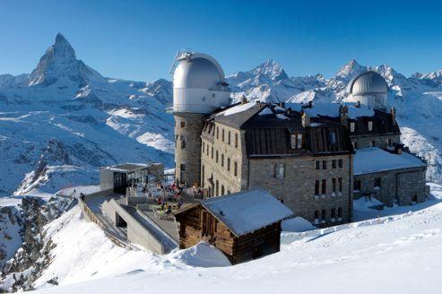 Les 5 h tels au sommet en suisse - Hotel de montagne suisse ...