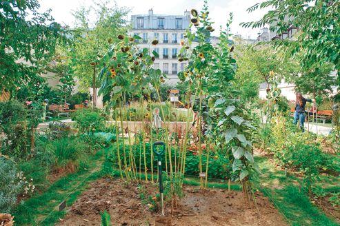 Paris les jardins partag s arrivent l 39 ouest for Le jardin paris 9