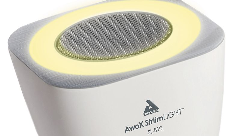 awox le fran ais qui a invent l 39 ampoule musicale. Black Bedroom Furniture Sets. Home Design Ideas