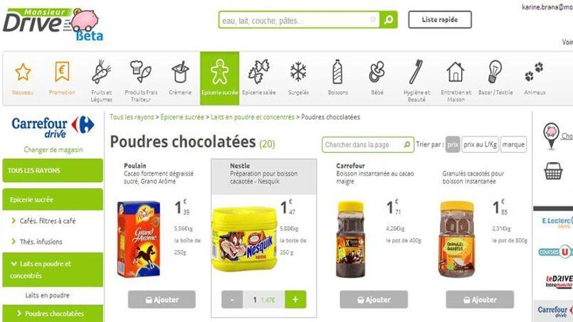 Comment faire des conomies en comparant les drives alimentaires - Comment faire des economies ...