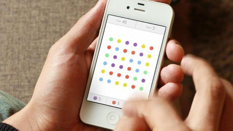 test dots simple et addictif