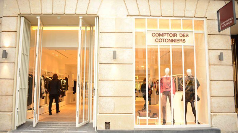 Six grandes griffes fran aises sont d tenues par des fonds trangers - Boutiques comptoir des cotonniers ...