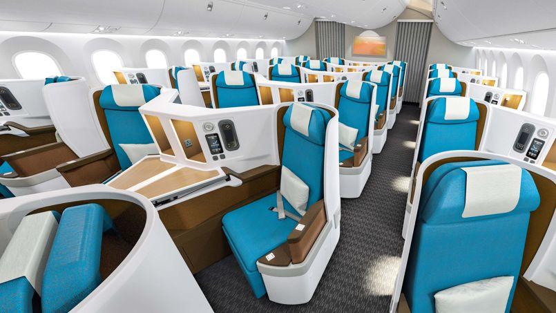 De nouvelles classes affaires pour r enchanter les vols for Interieur 747 corsair