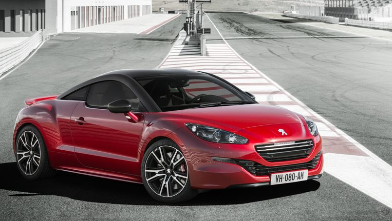 rcz r la peugeot la plus puissante jamais produite. Black Bedroom Furniture Sets. Home Design Ideas