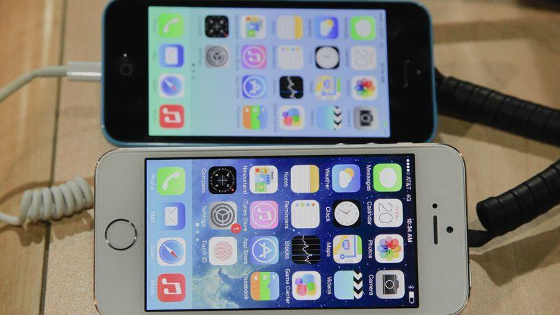 l 39 iphone 5s co te peine plus cher fabriquer que l 39 iphone 5c. Black Bedroom Furniture Sets. Home Design Ideas