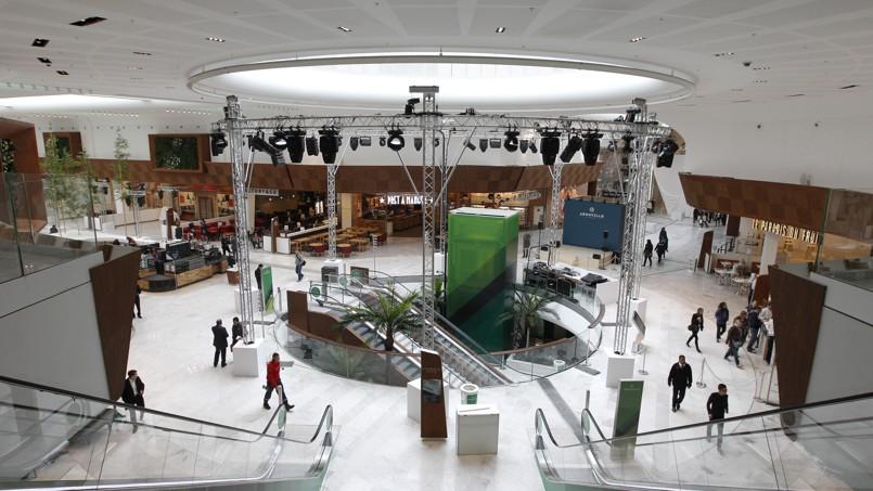 A roville veut r enchanter le centre commercial - Le centre commercial aeroville ...