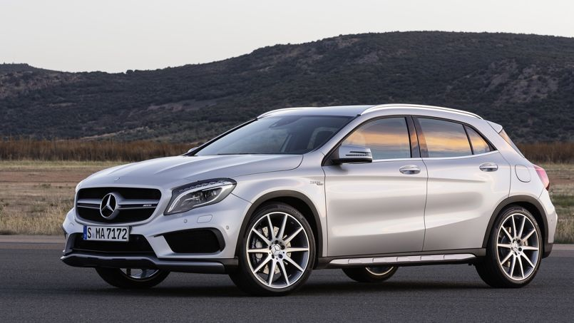 mercedes gla 45 amg un crossover survitamin. Black Bedroom Furniture Sets. Home Design Ideas