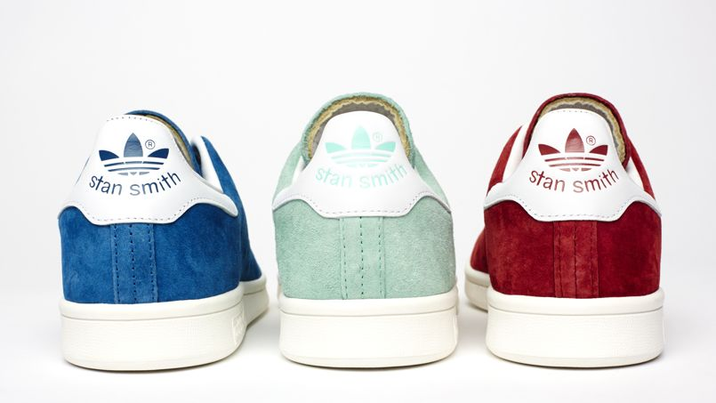 Stan Smith Adidas Bleu