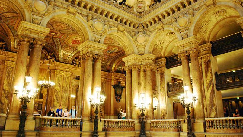 google num rise le patrimoine du palais garnier. Black Bedroom Furniture Sets. Home Design Ideas