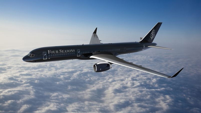 Un Jet Priv Griff Palace Pour Tours Du Monde Hyper Luxueux