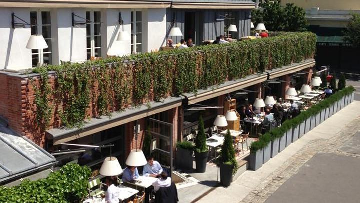 D ner huit en terrasse paris for Ma cocotte restaurant saint ouen