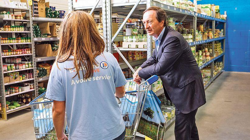 Guerre des prix alimentaires haro sur leclerc - Arnaud de la chesnais ...