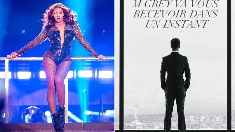 Beyonc d voile des images de 50 nuances de grey sur instagram for Chambre 50 nuances de grey