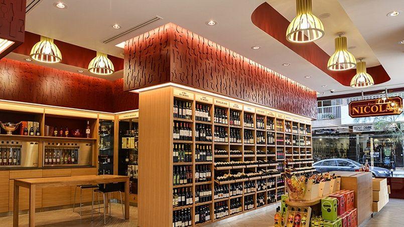 Nicolas ouvre une boutique de vins beyrouth - Agencement de cave a vin ...