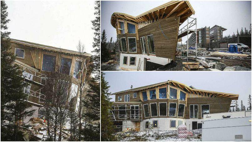 Ibrahimovic pr pare sa retraite avec la construction d 39 une - Maison de la hongrie paris ...