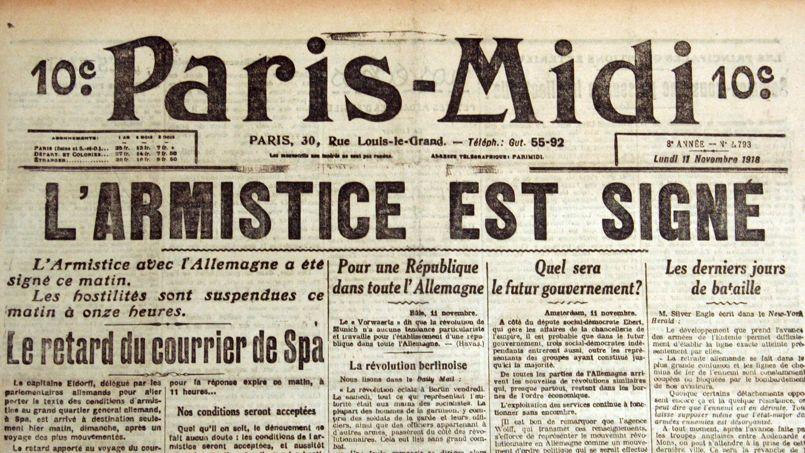 armistice de 1918