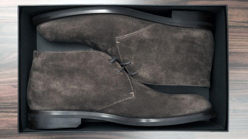 souliers pour hommes daim ou cuir. Black Bedroom Furniture Sets. Home Design Ideas
