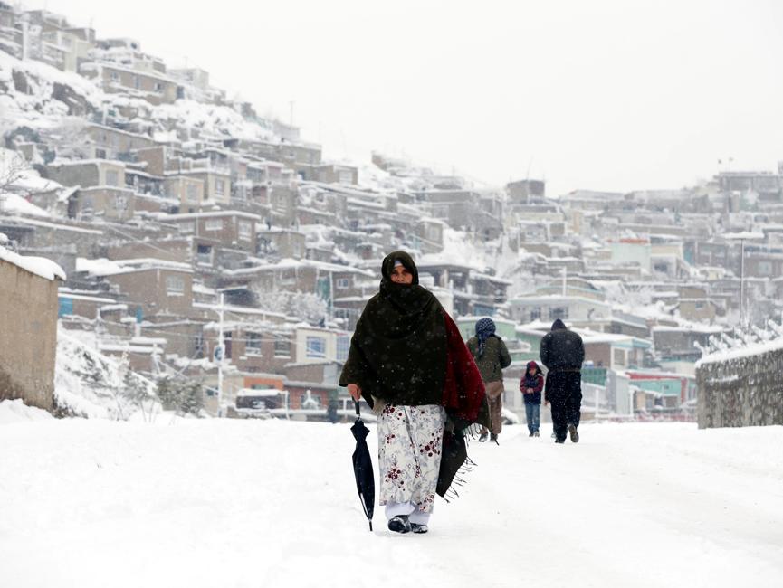 La neige et le froid font des dizaines de morts — Afghanistan