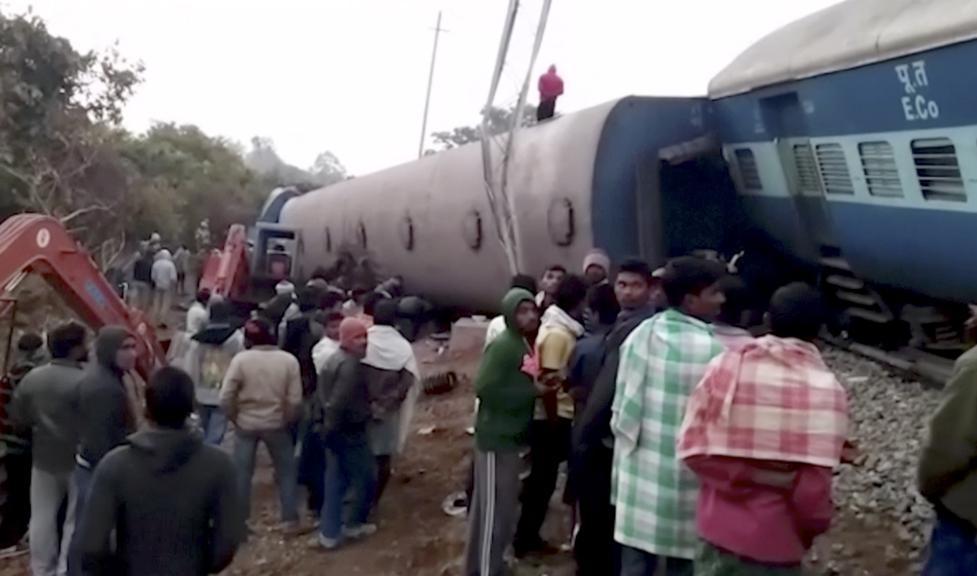 Au moins 36 morts dans un nouveau déraillement de train — Inde