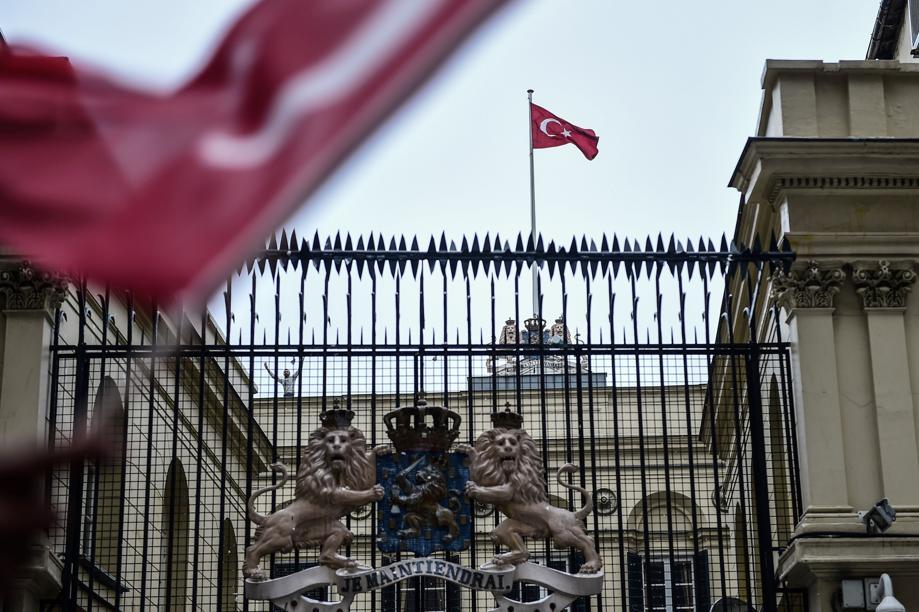 Pays-Bas: la ministre turque explusé