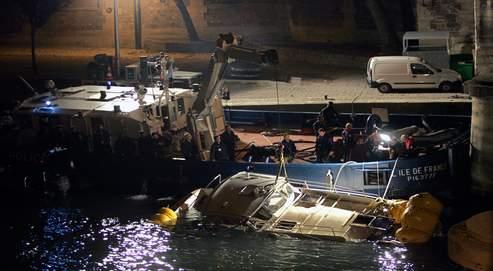 La vitesse en cause aprèsun naufrage mortel sur la Seine