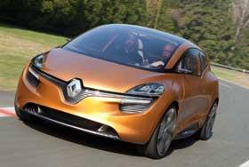 Au volant des trois Renault pour demain