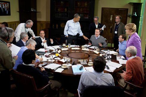 Pas de «période d'essai» pour Hollande, le novice du G8