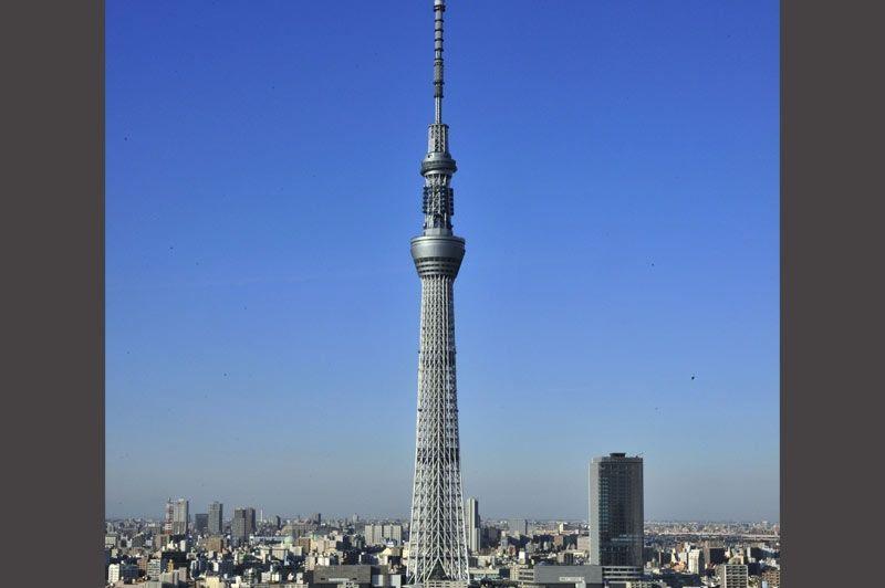 Les tours les plus hautes du monde for Les plus grandes tours du monde